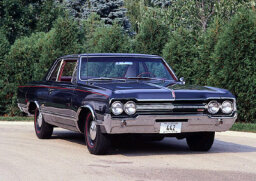 1965 OldS Cutlass 442