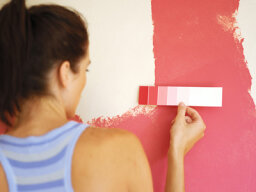 How can a machine match a paint color perfectly?
