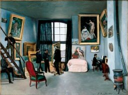 Paintings by Frederic Bazille