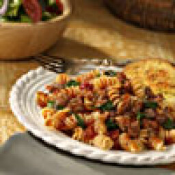 Pasta with Spinach and Sausage