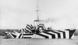 Stuff You Missed in History Class: Dazzle Camouflage [AUDIO PODCAST]