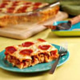 Polka Dot Pasta Pizza