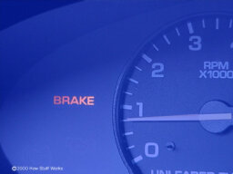 What do the brake warning lights mean in my car?