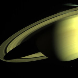 What are Saturn's rings made of?