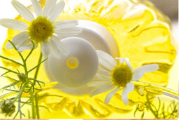 How does Roman Chamomile work in skin cleansers?
