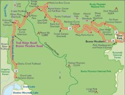 Colorado Scenic Drive: Trail Ridge Road/Beaver Meadow Road