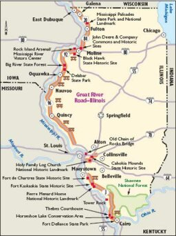 Illinois Scenic Drives: Great River Road