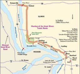 Illinois Scenic Drives: Great Rivers Scenic Route