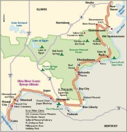 Illinois Scenic Drives: Ohio River Scenic Byway