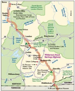 Kentucky Scenic Drives: Wilderness Road Heritage Highway