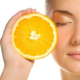 How does skin produce vitamins?