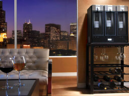 How the Skybar Wine System Works