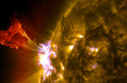 Could an extremely powerful solar flare destroy all the electronics on Earth?
