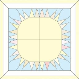 Sunshine Quilted Wall Hanging Pattern