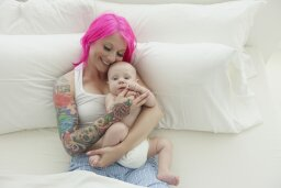 Can you get a tattoo if you're breast-feeding?