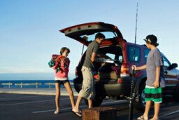 How to Tie Fishing Rods to a Roof Rack