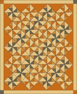 Twirling Quilt Pattern