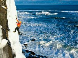 Can you ice climb a waterfall?