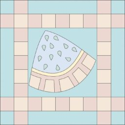 Watermelon Quilt Block