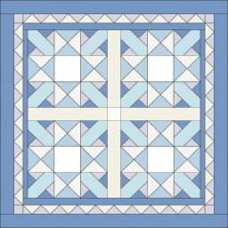 Winter Wonder Quilted Snowflake Wall Hanging Pattern