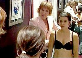 Gina finds out that her bra size is actually a 32C.