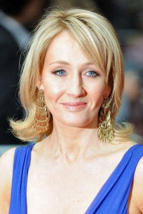 Author J.K. Rowling is one of the richest women in the world.