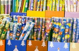 Declutter your gift wrap stash and save cash.  Richard Drury/Getty Images