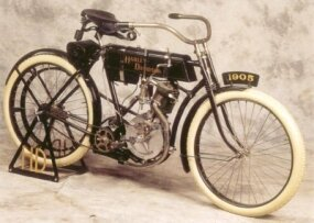 Only 16 of the 1905 Harley-Davidson models were built.