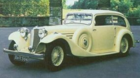The 1935-1936 fastback Airline sedan wasn't one of Lyons's favorite designs.