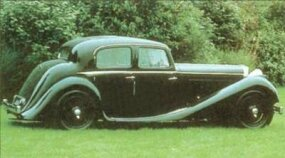 By 1938, the SS Jaguar sedan featured all-steel body construction.