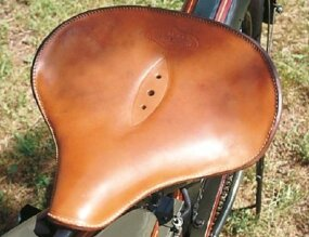 A new contoured saddle added comfort for appreciative riders.
