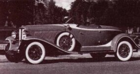 The 1933 Auburn Speedster was largely unchanged from the previous model year.
