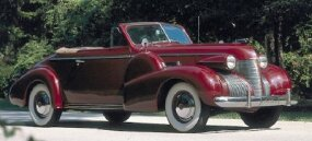 The 1939 Cadillac Series 61 convertible was one of four Series 61 models available in 1939.