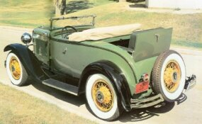 This restored 1930 Nash Twin Ignition Six was as authentic as possible.