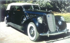 A mere nine LeBaron convertible sedans were assembled for 1939.