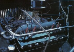The engine in the 1931 Lincoln Model K was largely the original Leland design, with a few tweaks.