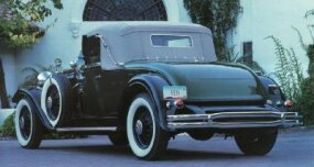 "This 1931 Lincoln Model K was first owned by novelist Erle Stanley Gardner of ""Perry Mason"" fame."