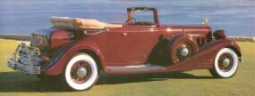 Prices for the 1933 V-16 Convertible Victoria were staggeringly high.