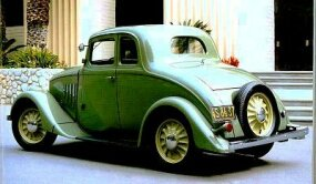 Production years for the Willys Model 77 Coupe are 1933-1936.