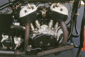 "Despite the introduction of the more modern ""Knucklehead"" Big Twin in 1936, the flathead version would live on into the late 1940s."