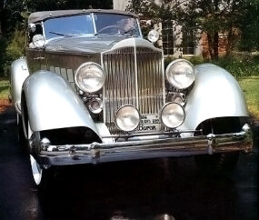 The 1934 Packard Twelve Sport Phaeton by LeBaron cost $7,065, enough to buy a home in 1934.