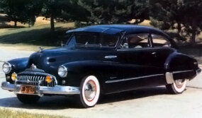 Buick still offered a Sedanet in all series in 1947. The most expensive was the Roadmaster at $2,131.