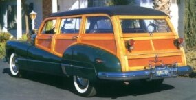 The 1948 Roadmaster Estate Wagon was far rarer -- and now more highly coveted -- than other models.