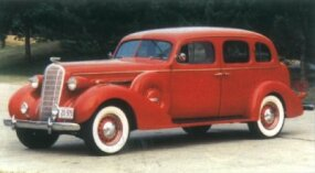 The 1936 Roadmaster sedan outsold the phaeton 15,328 to 1,230.