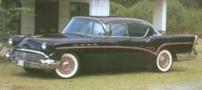 Buick styling for 1957 was an evolution of what had gone before.