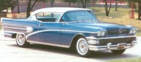 The 1958 Buick Roadmaster Riviera coupe sold only 2,368.