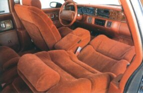 The 1992 Roadmaster interior was plush and spacious.