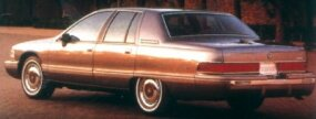 The 1992 Buick Roadmaster rested on a 115.9-inch wheelbase.