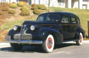 The 1939 Roadmaster Formal Sedan, with its roll-up divider window, cost $1,758.