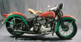 The 1936 Harley-Davidson EL offered this